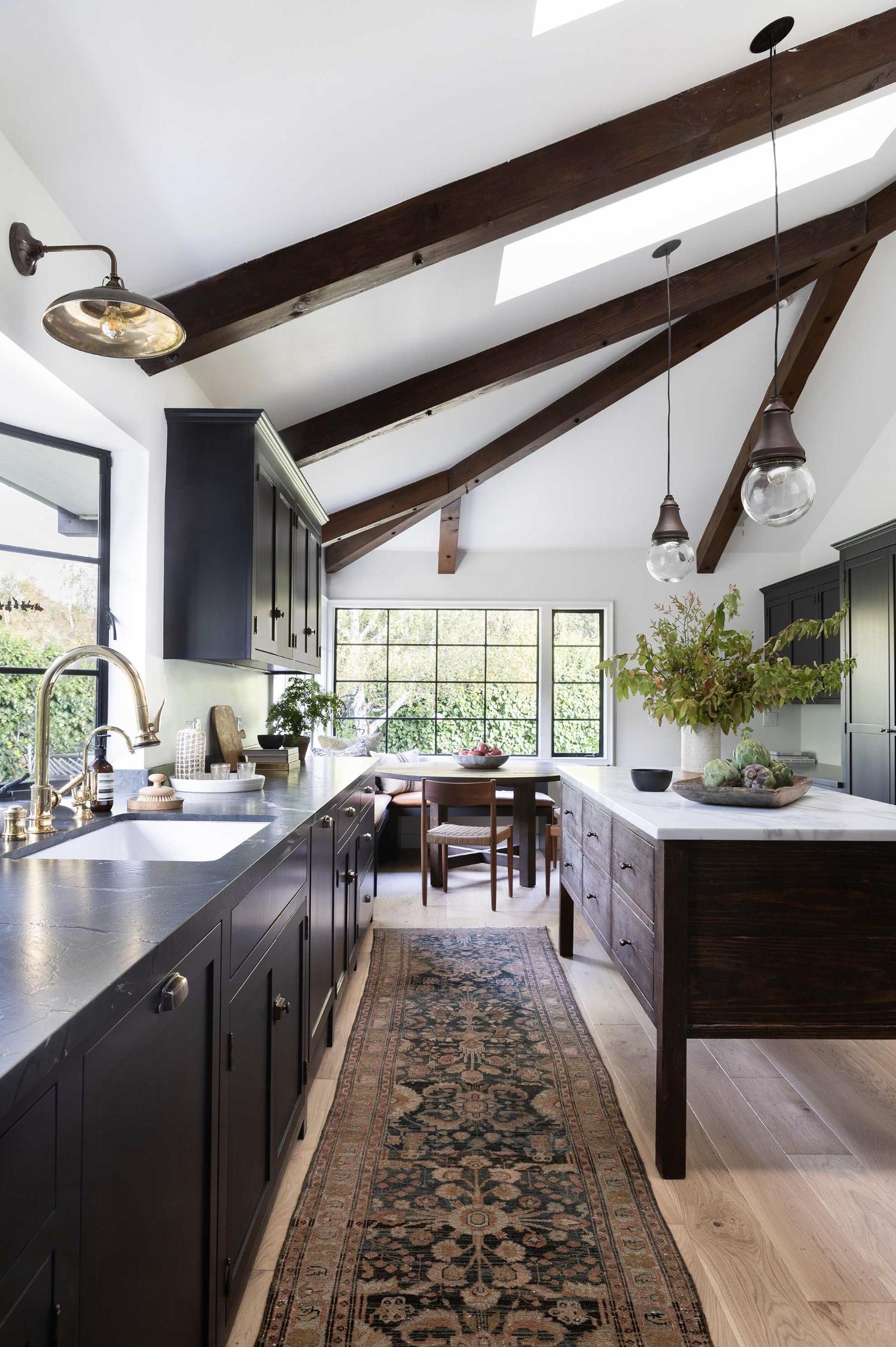 ideas for kitchens dark wood