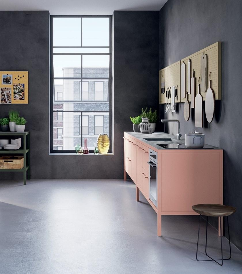 ideas for kitchen minimal colourful pastel colour