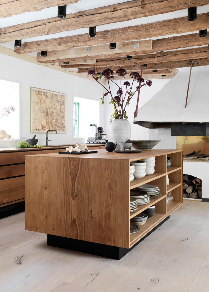 kitchen ideas rustic wooden contemporary