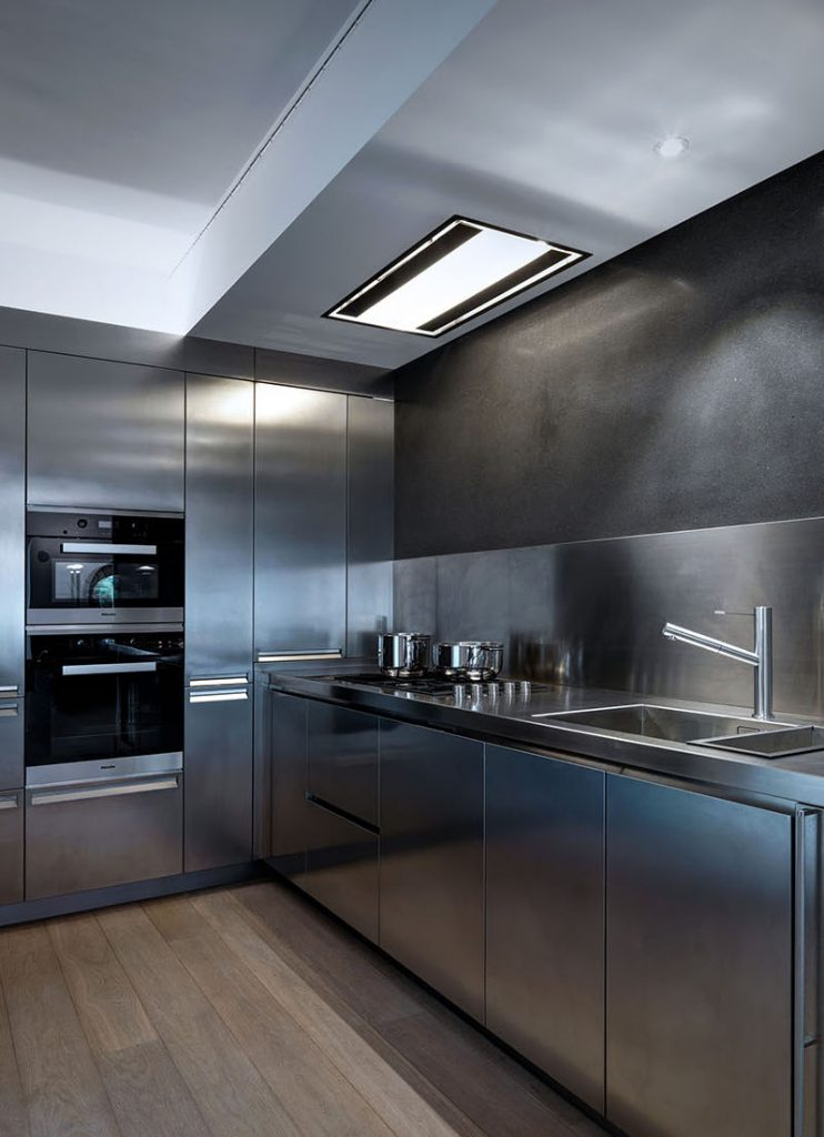 ideas for kitchens all steel style