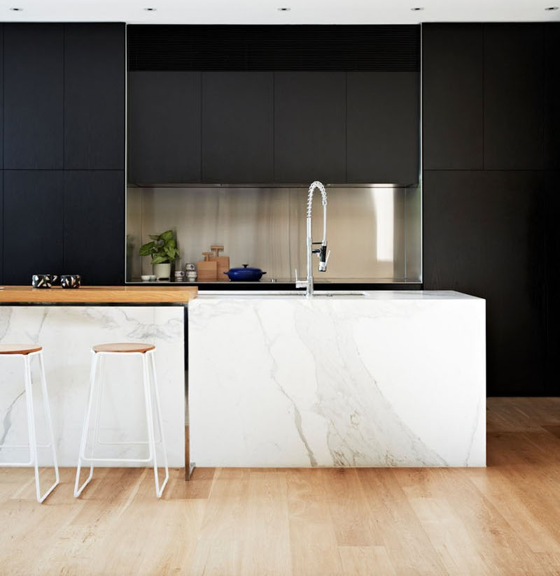 ideas for kitchens contemporary materials