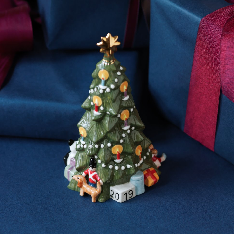 Nordic Christmas decoration annual Christmas tree in ceramic 2019