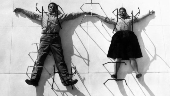 Charles and Ray Eames, the couple of designers